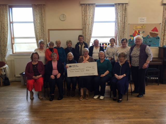 Thank You Trinity Ladies Group Crossgates!