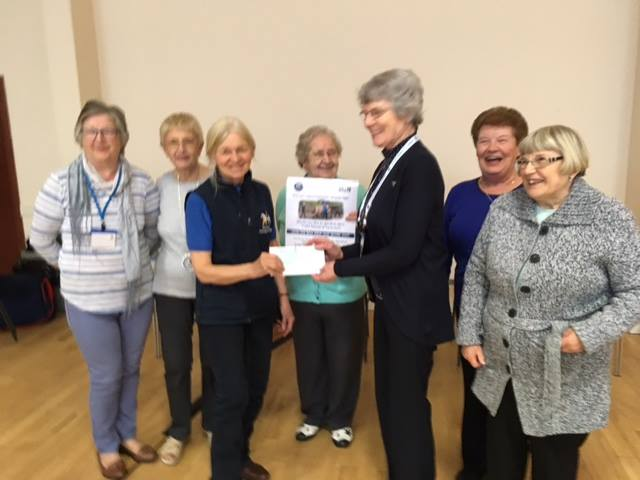 STRC Chosen as Charity of the Year by Fife NHS Group
