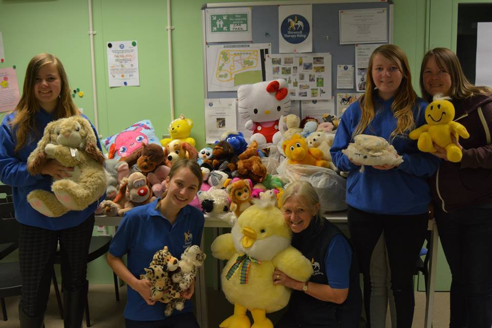 Sainsbury's Rosyth Donate Cuddly Toys